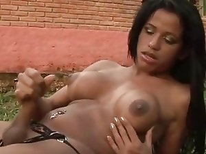 Esmerelda Dias Tranny Strips And Jerks